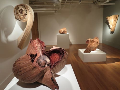 Sculptures by Barbara Cooper seen at Perimeter Gallery, Chicago - Sculpture Exhibition