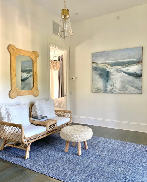 Paintings by Lori Drew Art Studio seen at Private Residence, Rosemary Beach - Painting