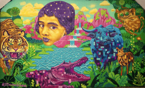 Bodeck Luna Hernandez - Murals and Art