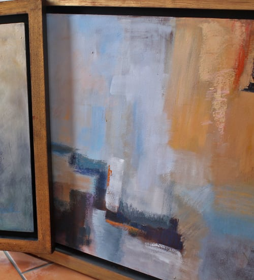 Paintings by Cecilia Arrospide at Private Residence, Miraflores, Comas, Comas - SUNSHINE