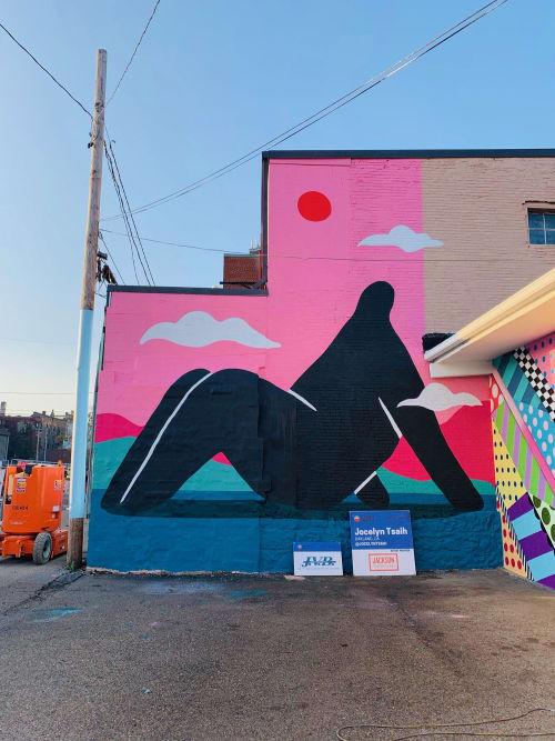 Murals by Jocelyn Tsaih seen at Bright Walls Jackson, Jackson - Wall Mural