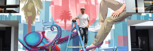 Whitman Lindstrom - Murals and Art