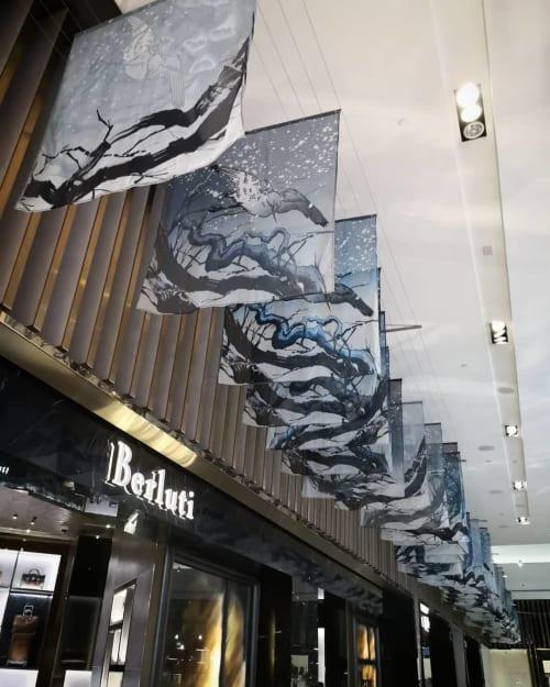 Art & Wall Decor by Enforce One seen at The Dubai Mall, Dubai - Oriental Reflections