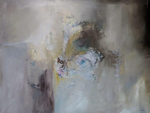 Smoke Gets in Your Eyes   Paintings by Jillian Goldberg