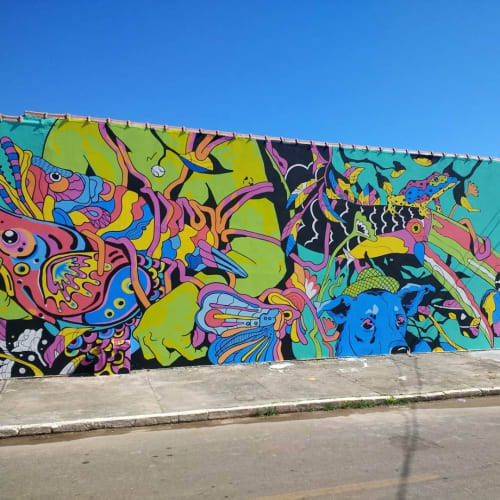 Andre Morbeck - Murals and Art