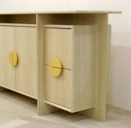 KW Office Credenza | Tables by Long Grain Furniture | Private Residence - Omaha, NE in Omaha