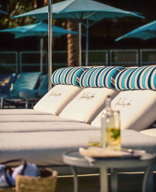 Furniture by CC Patio seen at Hotel Valley Ho, Scottsdale - Hamid Patio