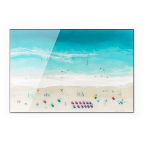 """Paintings by Sarah Caudle seen at Private Residence - """"Waikiki Beach"""" Acrylic Print"""