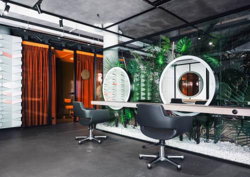 Interior Design by DA bureau seen at Glamy Spot пространство красоты, Sankt-Peterburg - GLAMY Beauty Spot