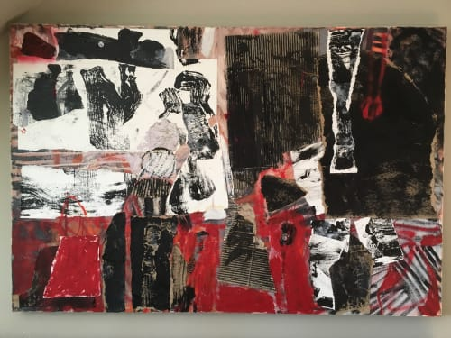 Paintings by Margaret Glew seen at Private Residence, Toronto - Untitled