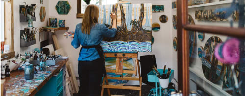 April Lacheur - Paintings and Murals