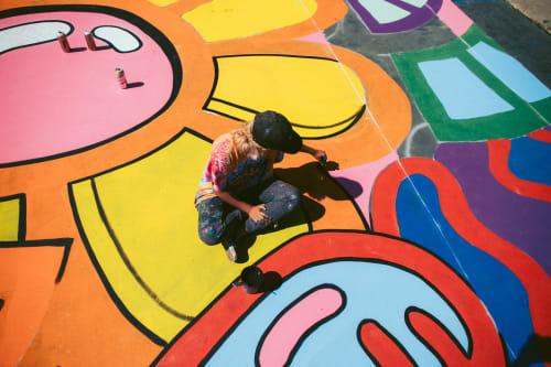 Sarahlaine Calva - Street Murals and Public Art