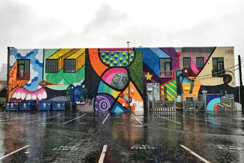 Rif Raf Giraffe - Street Murals and Public Art