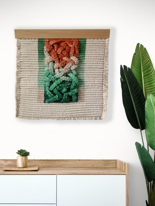 Macrame Wall Hanging by Demi Macrame & Designs seen at Creator's Studio, Houston - Brambles - Macrame Wall Hanging