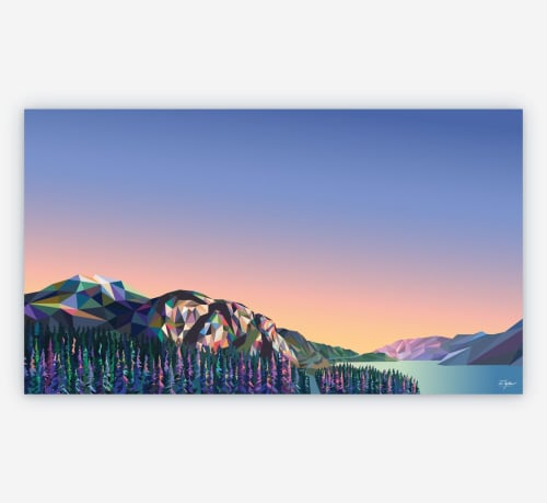 Art & Wall Decor by Elyse Dodge seen at Private Residence, Squamish - The Chief