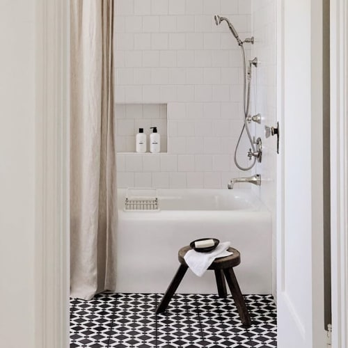 Tiles by Zia Tile seen at Private Residence, Los Angeles - Marrakech