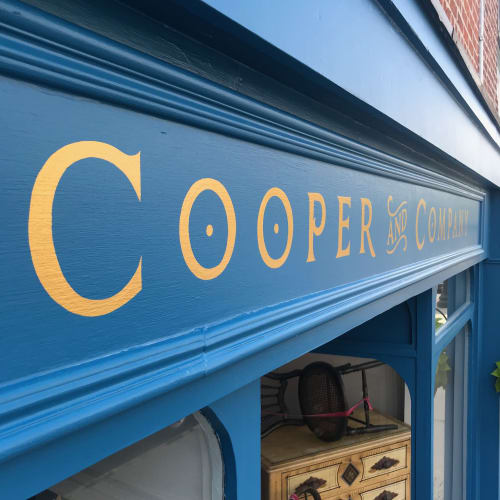 Cooper and Company | Signage by Very Fine Signs