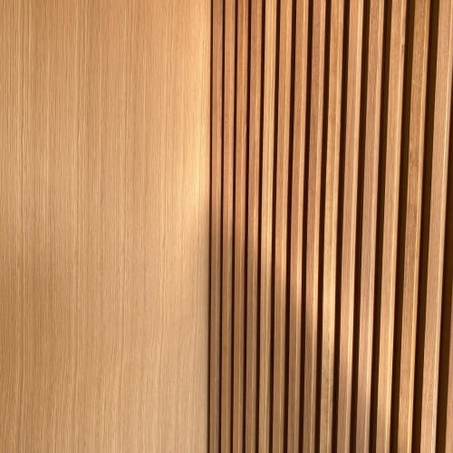 Wall Treatments by Angel City Woodshop seen at Private Residence, Los Angeles - Pacific Palisades Residence