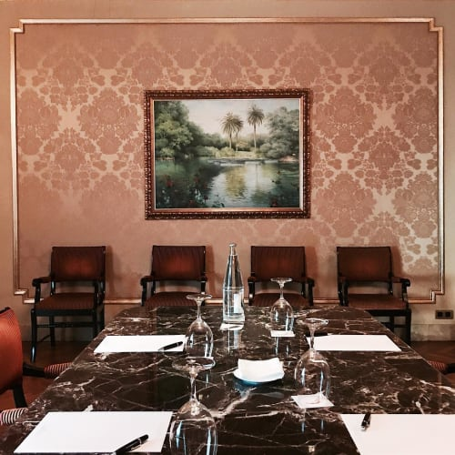 Paintings by Carol Moreno seen at Hotel El Palace Barcelona, Barcelona - Landscape Painting