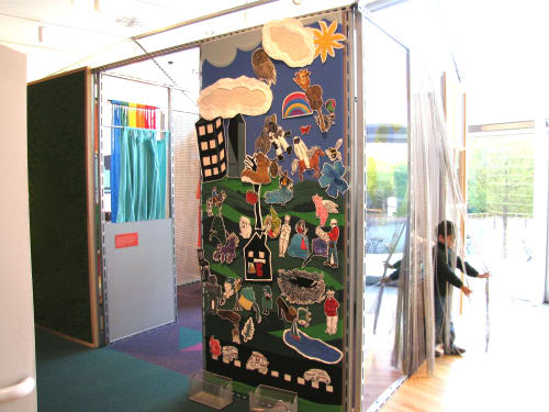 Art & Wall Decor by Leisa Rich at Dallas Museum of Art, Dallas - Viewer Interactive play boards