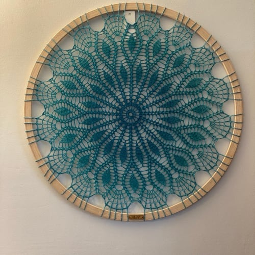 Art & Wall Decor by Woolly Fingers seen at Private Residence, Worcester - mandala wall art