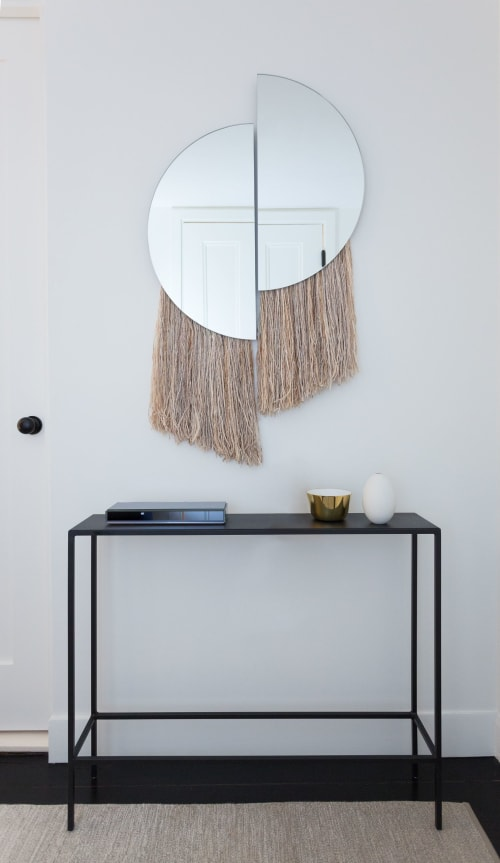 Wall Hangings by Ben and Aja Blanc seen at Private Residence, Greenwich Village, New York - Mirrors