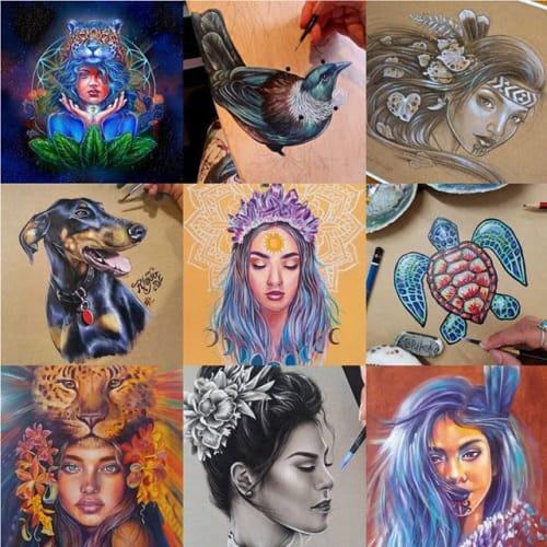 Erika  Pearce - Murals and Art
