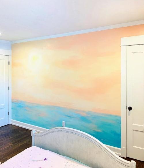 Interior Mural   Murals by Stefanie Bales Fine Art