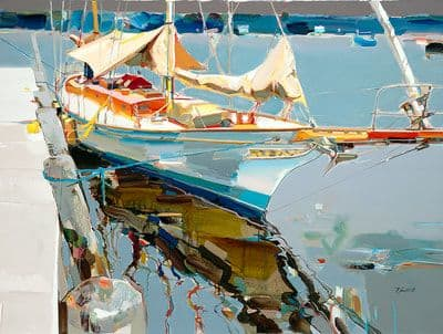 "Art & Wall Decor by YJ Contemporary seen at East Greenwich, East Greenwich - Josef Kote ""Here to Stay"""