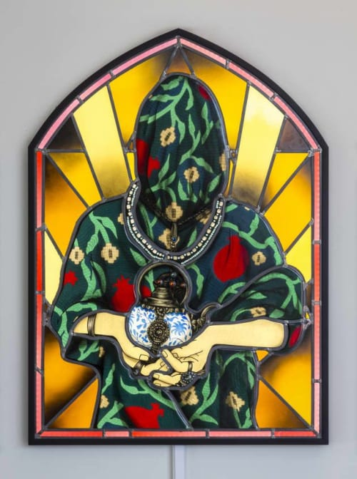 """Public Art by Judson Studios seen at Shulamit Nazarian, Los Angeles, Los Angeles - """"Offering"""""""