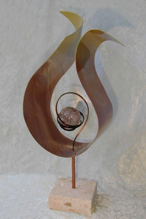 Sculptures by Creative Healing by Lia Strell seen at Private Residence, Carlsbad - Probability