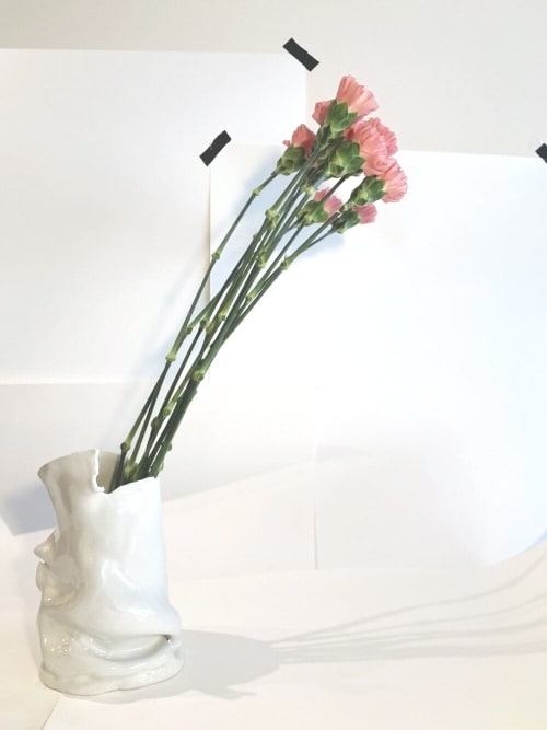 Vases & Vessels by Reconsider by Carole Touati seen at Private Residence, Barcelona - PORCELAIN VASE 01.09