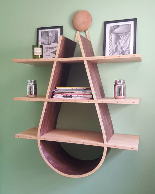 Furniture by Marc DiGiaimo Design seen at Private Residence, Philadelphia - Rain Drop Shelf