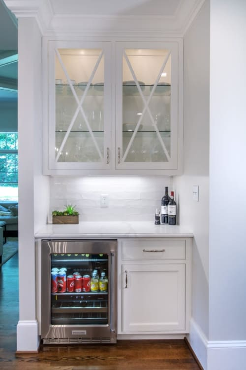 Furniture by Walker Woodworking seen at Private Residence, Charlotte - Simply White Kitchen Makeover