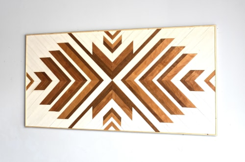 Wall Hangings by Ethos Woodworks seen at Private Residence -  Melbourne Beach, FL, Melbourne Beach - Birch Wood Wall Art - No. 1