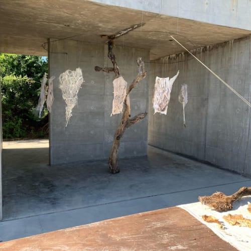 Art & Wall Decor by Waste Textiles Artist Femke van Gemert seen at Private Residence, Amsterdam - Installation Anthroponopal