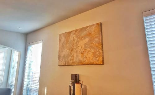 Paintings by Soulscape Art seen at Private Residence, Dallas - Sat Nam