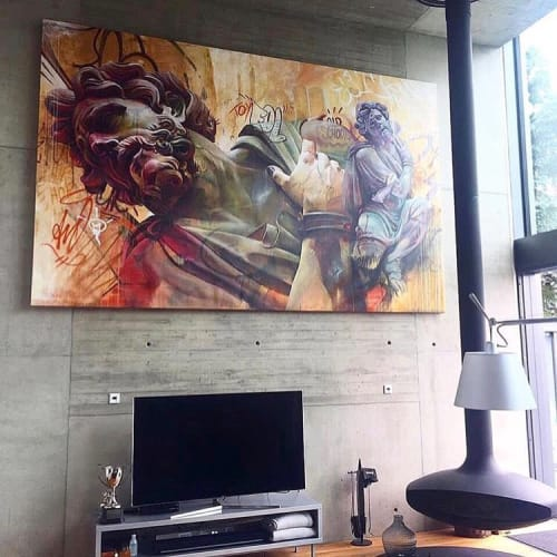 Paintings by PichiAvo seen at Private Residence, London - Canvas Painting