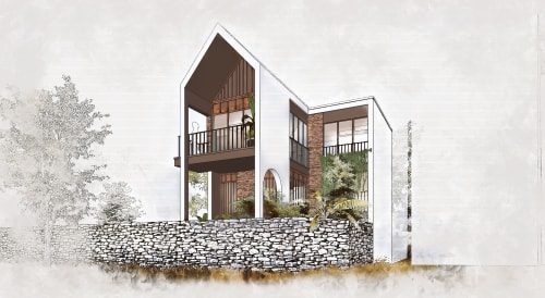 Architecture by Archiworkplace seen at Private Residence, Đồng Mai - The Cabin House