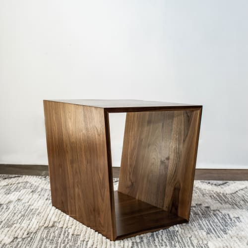 Tables by Timber & Tulip seen at Anahata Collaborative LLC, Minneapolis - Winston End Table (in Black Walnut)