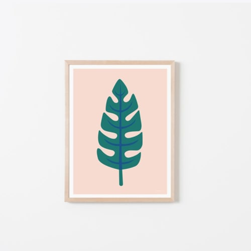 Art & Wall Decor by Honey & Bloom seen at Honey & Bloom Studio, San Francisco - Palm Leaf