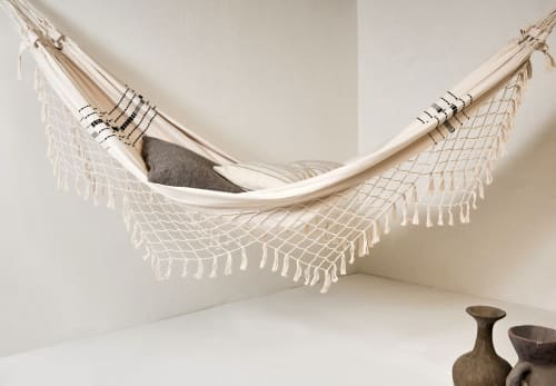 Linens & Bedding by Joinery seen at Private Residence, Los Angeles - Woven Cotton Hammock