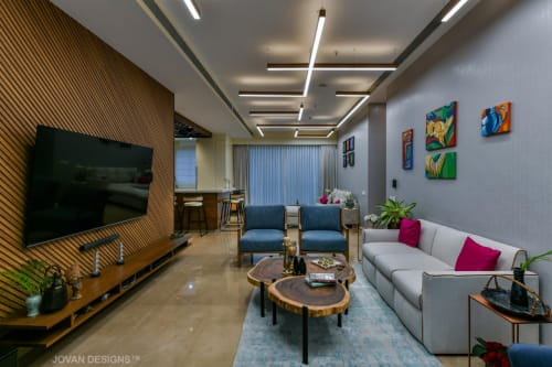 Interior Design by Jovan Designs seen at Raheja Vivarea Mumbai, Mumbai - Raheja Vivarea