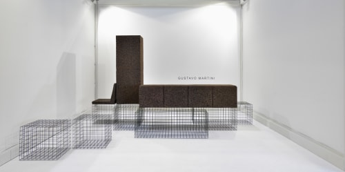 Furniture by Gustavo Martini seen at Milan, Milan - Grove