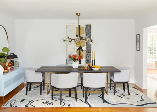Architecture by Laurie Blumenfeld Design seen at Private Residence, Larchmont, Larchmont - Artful Dining