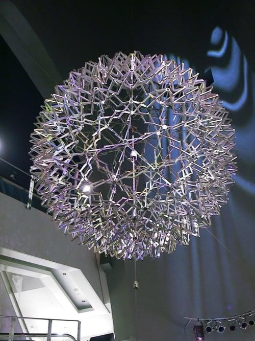 Expanding Sphere | Public Sculptures by Philip Vaughan