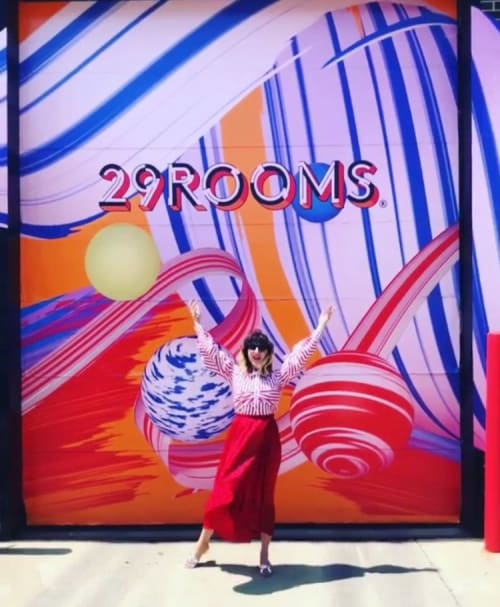 Murals by Sarah Lillz seen at 29Rooms Chicago, Chicago - 29Rooms Chicago Mural for Refinery29