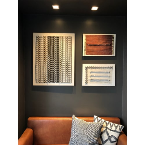 Art & Wall Decor by Leslie Ann Wigon Art & Design seen at New York LaGuardia Airport Marriott, Queens - Hand Crafted Fabric Art