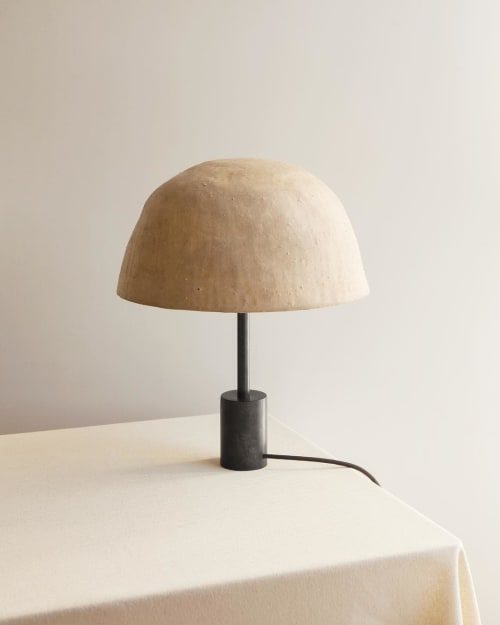Lamps by In Common With seen at In Common With Studio, New York - Dome Table Lamp