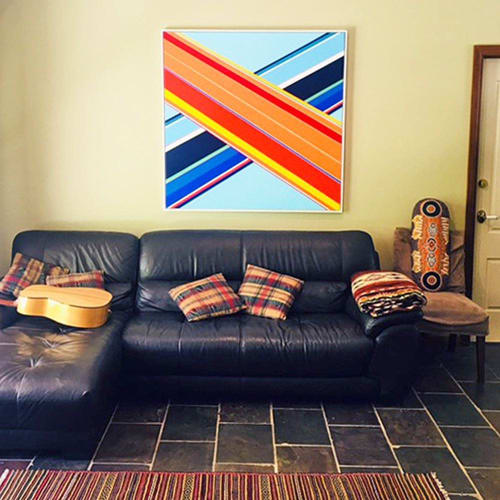 Paintings by Kurt Herrmann seen at Private Residence, Sydney - Swissdale Crossroads